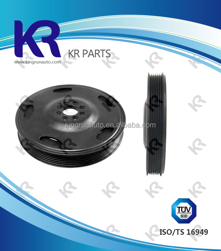 Crankshaft Pulley harmonic balancer damper pulley 06E105251C for AUDI A4 3.2 FSI 2002-