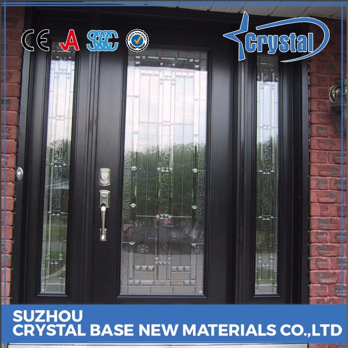 Production Assessment Supplier Factory Price Tempered Glass Front Door Glass