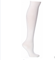 Spring Style Custom Design Plain White Teen Girls Thin Cotton Stockings