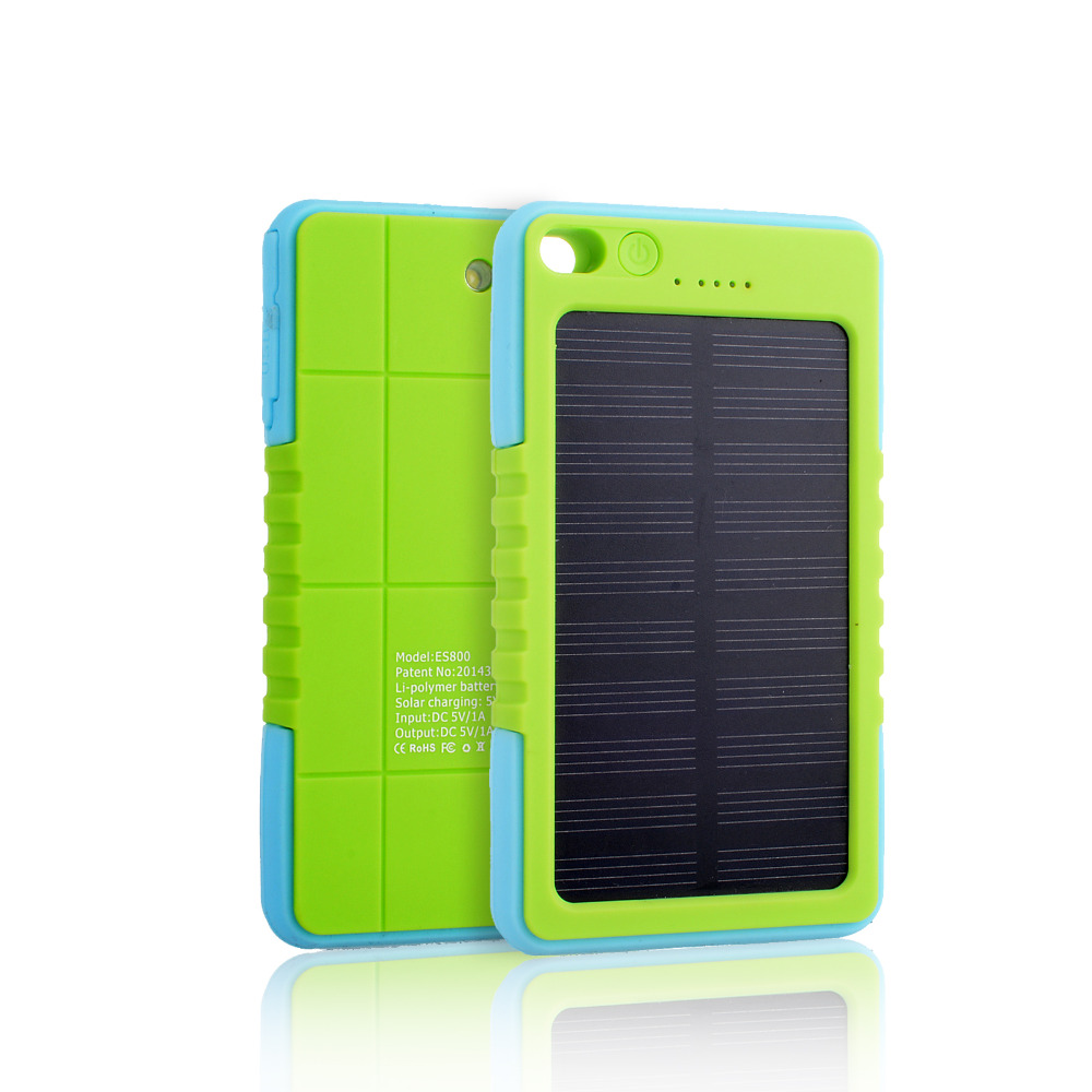 8000mAh factory cheap price portable window solar charger/solar cell phone charger