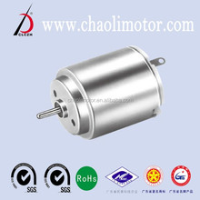 12v/6v CL-RC260RA carbon-brush dc motor for toy car,electric shaver,toothbrush and mirror adjuster with gearbox