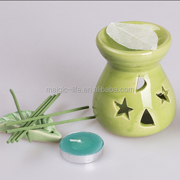 gift sets tealight star aroma oil buner sets reed diffuser sets