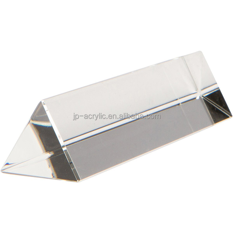"Wholesale 6"" Equilateral clear acrylic prisms for teaching or photography for sale"