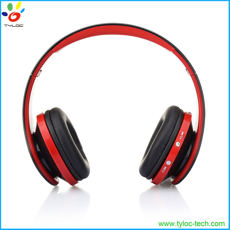 2016 High quality cheap price stereo bluetooth headset, OEM brand wireless bluetooth headphone