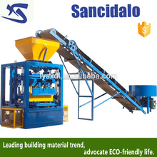 recycling beton for baking-free perforated manuall brick machine, diesel concret block egg laying machine
