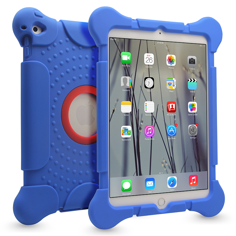 For iPad Air Silicone Case Cover Rubber Gel Protective Silicone Tablet Case