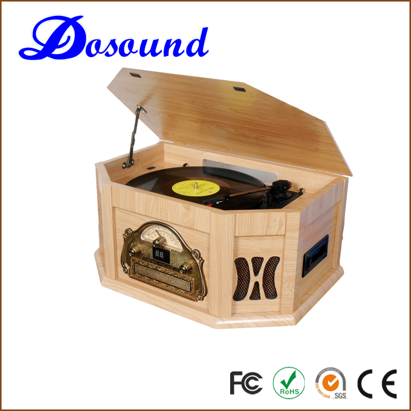 Multiple function, all in one DJ turntable Player with USB SD bluetooth function