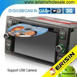 Erisin ES3066F 7 inch 2 Din Car Audio System with GPS for Mondeo