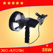 HID Search Light Flood 35W 55W 70W LED Handheld Work Light Portable Super Bright LED Work Light