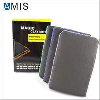 nano car polishing magic clay mitt