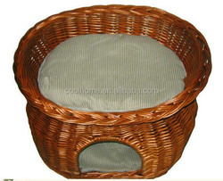 Rattan Nice Cat Bed pet House