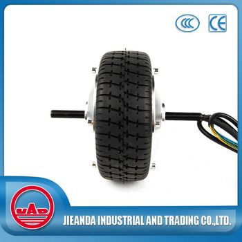 Small geared 36v 250w electric wheel hub motor