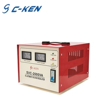 Hot Style SVC 2000VA Single Phase Servo Motor Type Stabilizer 2KW AC Automatic Voltage Regulator
