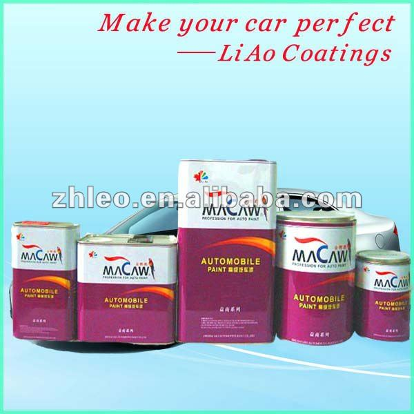 Macaw Brand Automobile Refinish Poly Acrylic Paint