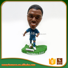 Resin Football Player Figurines,Soccer Player Figurines