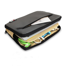 Fashion Grey Color 7.9 inch Tablet Case Portable Electronics Accessories Organizer Notebook Bag