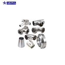 Manufacturers direct sale ss304 ss316l boss double nipple fittings