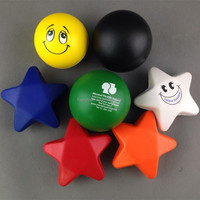 promotional cheap gifts anti stress ball with custom color