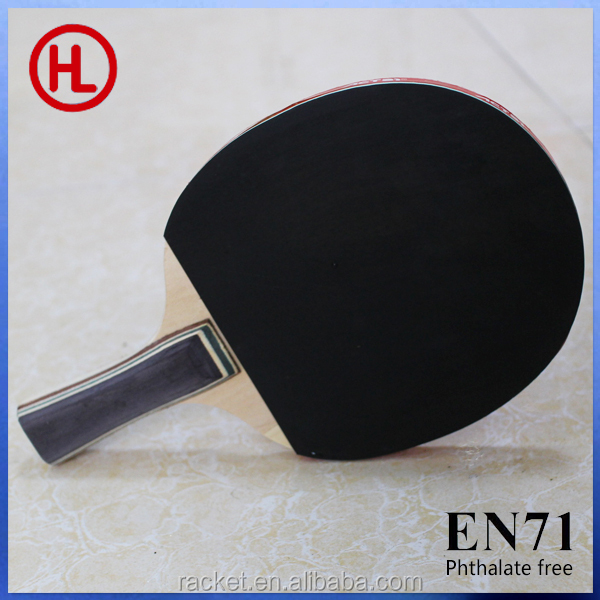 promotional poplar wooden ping pong table tennis racket set wholesale
