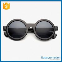 New arrival simple fashions pc frame sunglass, fashional round sunglasses