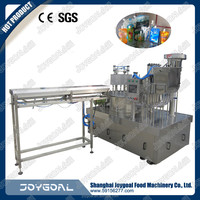 ZLD-C series milk and juice filling and sealing machine