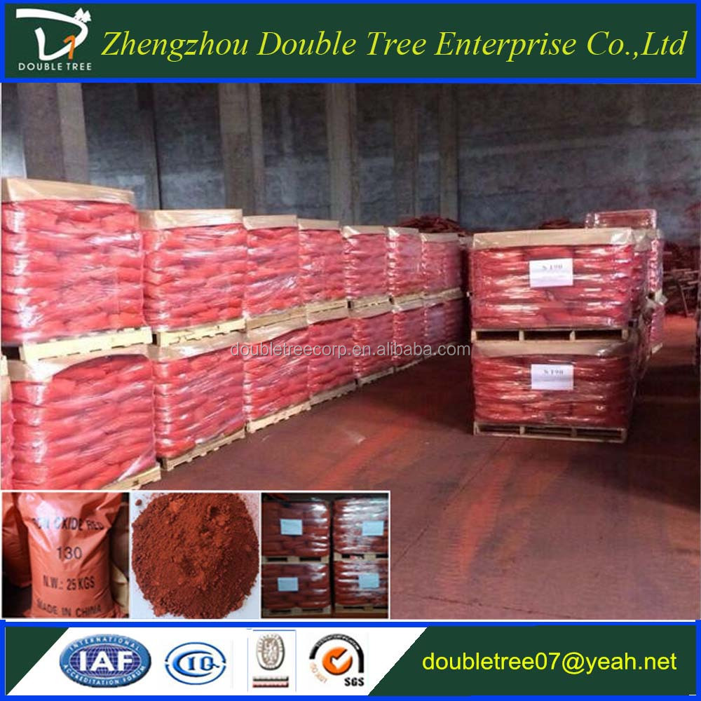Iron Oxide Red Brown Black Yellow Pigments for Ceramic Tiles/Concrete Coloring