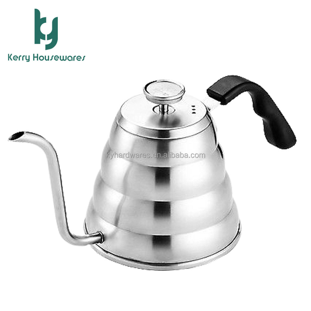 1.2L Hand Drip Kettle Pour Over Coffee with thermometer