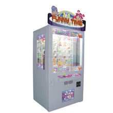 2015 low investment high profit business commercial catching toy key master prize vending game machine