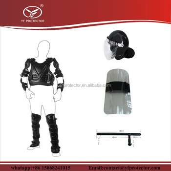 military anti Riot Suit /tactical full body armor suit/police anti riot gear
