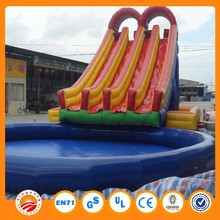 wholesale inflatable water slides china for kids and adults