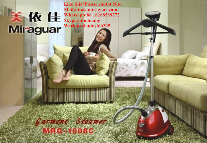 1800ml powerful high quality smart household electrical appliances clothes care steamer fabric industrial steam press iron