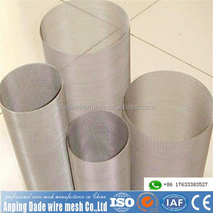 Great electric and thermal conductivity battery pure nickel wire mesh