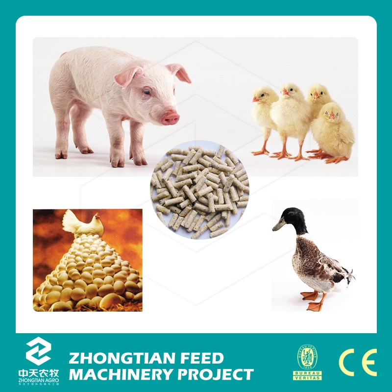 chicken duck poultry feed making pellet mill for duck anf goose farming With CE ISO
