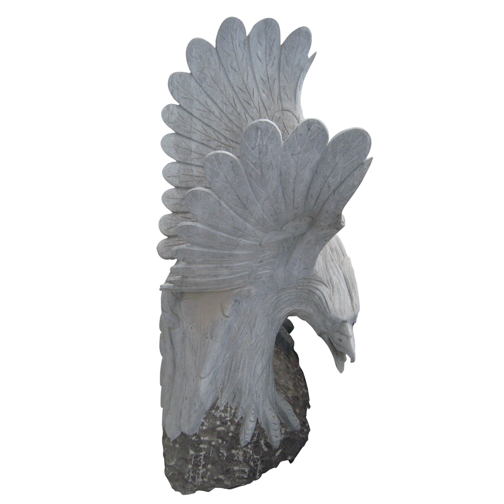 Garden Granite Animal Statue Marble Eagle Statue Stone Carving