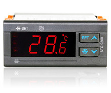 sell well/good quality AC 220V temperature controller with refrigeration defrost fan alarm function and two sensors