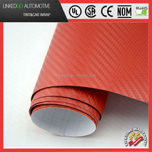 Most populat car sticker vinyl film carbon 3d car body wrap