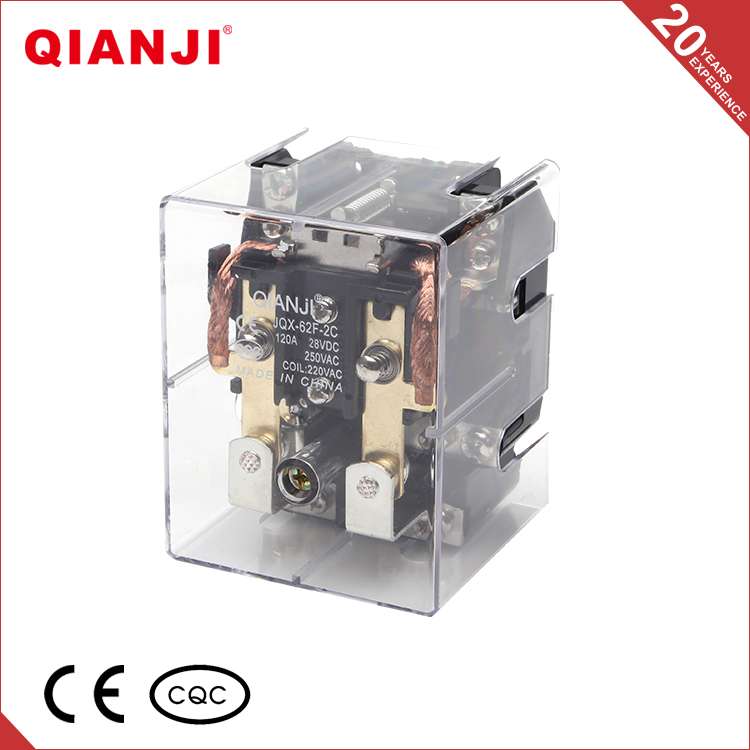 QIANJI Unique Products To Sell 6V 9V 12V 24V 2Z Small Size Power Relay