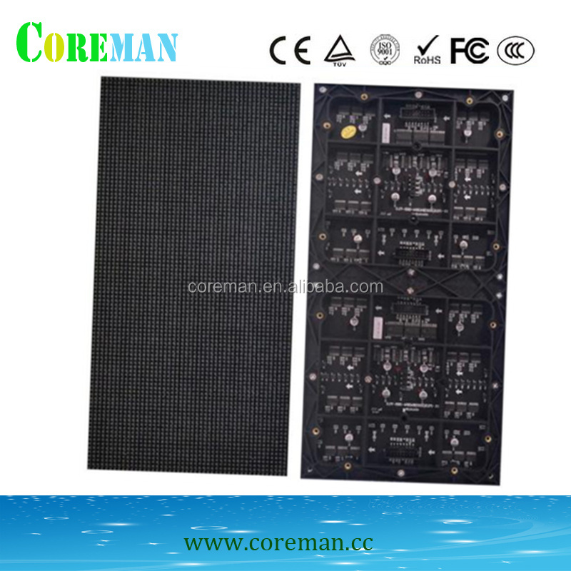 P2.5 matrix led <strong>16x64</strong> p13.33 outdoor led display die casting aluminum cabinet