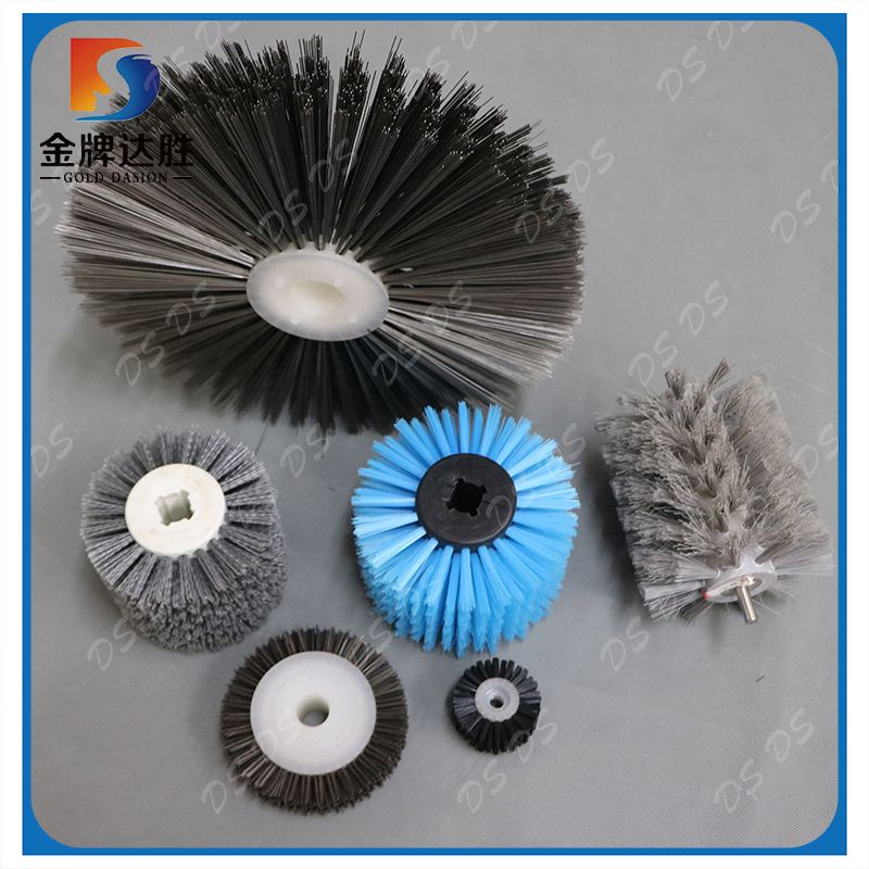 Industrial Cylindrical Cleaning Roller Brush