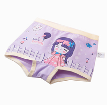 new fashion kids cartoon bamboo children underwear girls boxers children in underwear pictures