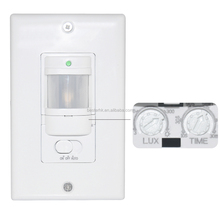 Passive infrared wall switch occupancy motion sensor