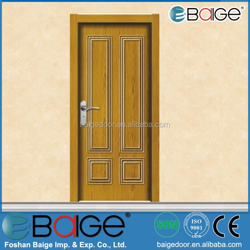 BG-W9311 compressed wooden entry doors