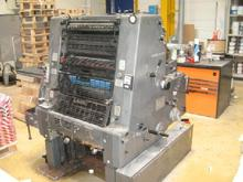 Used HEIDELBERG GTO 52 one color offset printing machine