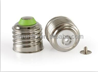 SCREW TYPE WELD FREE E27 BASE CAP FOR CFL AND LED LAMP HOLDER