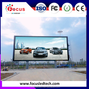 Electronic Billboard Manufacturer P10 LED panel with fast installation