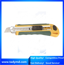 8 knife blade ABS thick handle flexible cutter knife/office use utility knife/free sample pocket knife