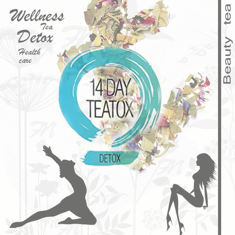 Dried Fruit Blueberry Blend Loose Leaf Detox Beauty Tea