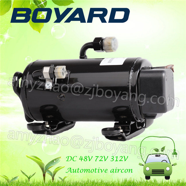 BOYARD <strong>R134a</strong> brushless electrical vehicle <strong>ac</strong> <strong>compressor</strong> DC 48V 72V 312V