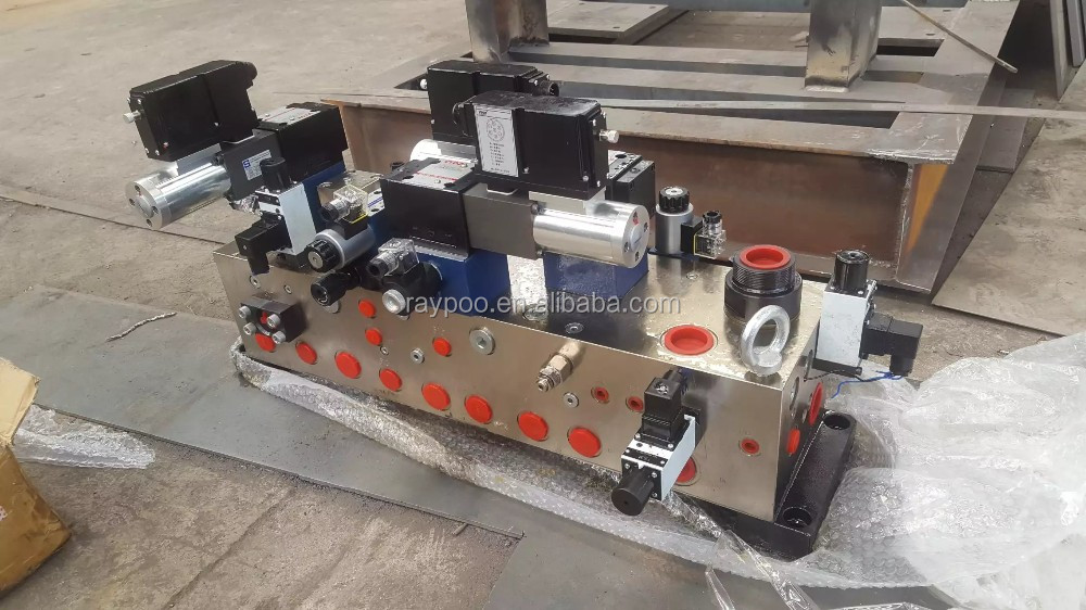 hydraulic control system valve manifold for aluminium can making machine
