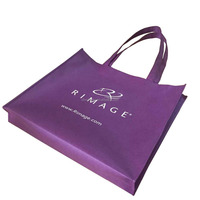good quality promotional customized silk-screen printing grocery non woven tote bag